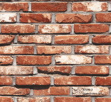 Load image into Gallery viewer, Red Brick Wallpaper 870333 (Korea)