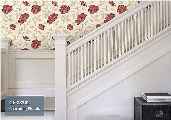 Florals Wallpaper CF-88302 (4 Colourways)