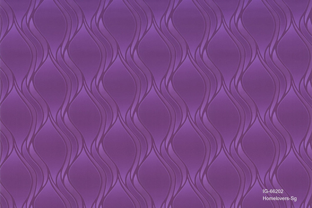 Curvy Design Wallpaper IG-66202 (7 colourways)