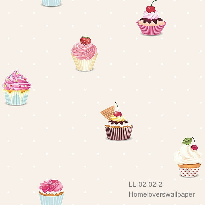 Cupcakes LL 02 (4 colourways)