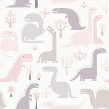 Load image into Gallery viewer, Dinosaurs Wallpaper LL 10-01-2 (3 Colourways) (Belgium)