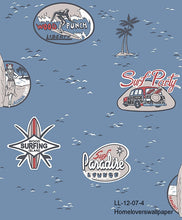 Load image into Gallery viewer, Surfer Paradise Wallpaper LL 12 (2 colourways) (Belgium)