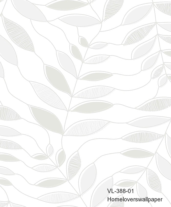 Leaves Wallpaper (5 colourways)