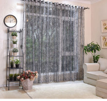 Load image into Gallery viewer, Ready Made Curtains - Home Decor Sheer Curtains and Tulle Curtains For Living Room Bedroom Door Kitchen Curtains For Window Children Voile Drapes