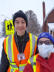 Crossing Guards - Sheila(Coach) and Patrick