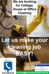 Let us make your cleaning job easy.