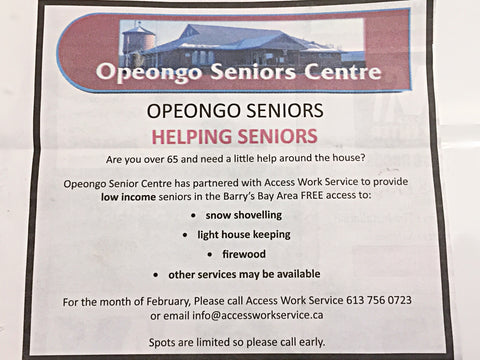 Helping Seniors for Free in February 2021