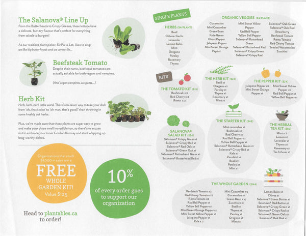 Plantables Fundraising Page 2