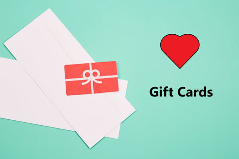 Gift Cards or Gift Certificates