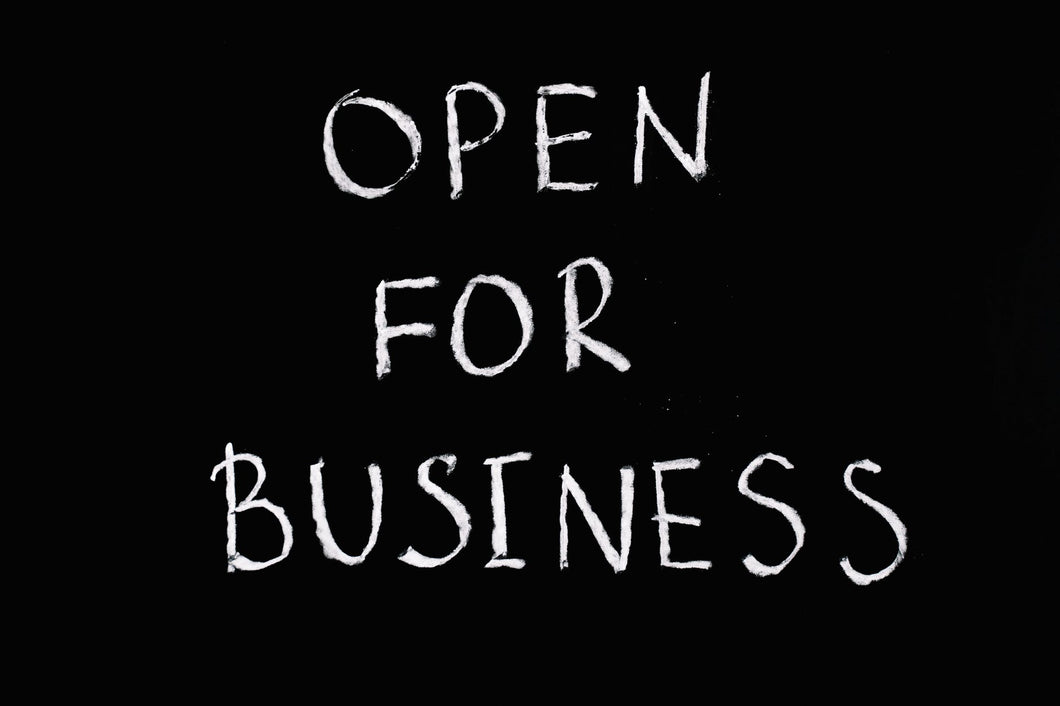 Business Owner Booking - Open For Business
