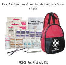 Load image into Gallery viewer, On the Go Pet First Aid Kit - kit contents