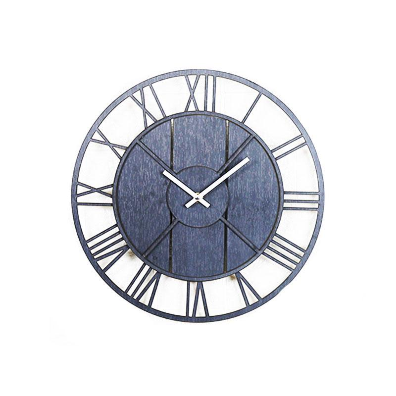 Wooden Retro Style Wall Clock
