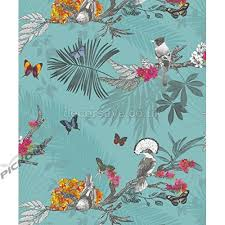 PAPEL DE PARED FOREST TEAL