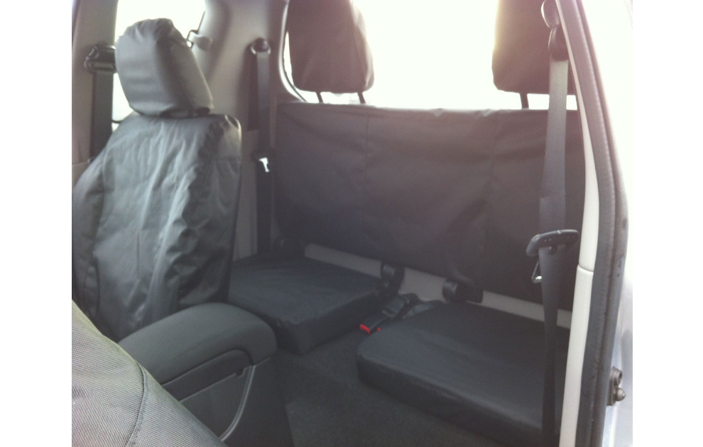 Mitsubishi Protective Seat Covers, 4Life Club Cab - Rear
