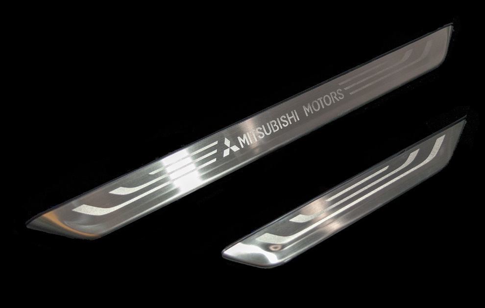 Mitsubishi Door Entry Guards, Stainless Steel