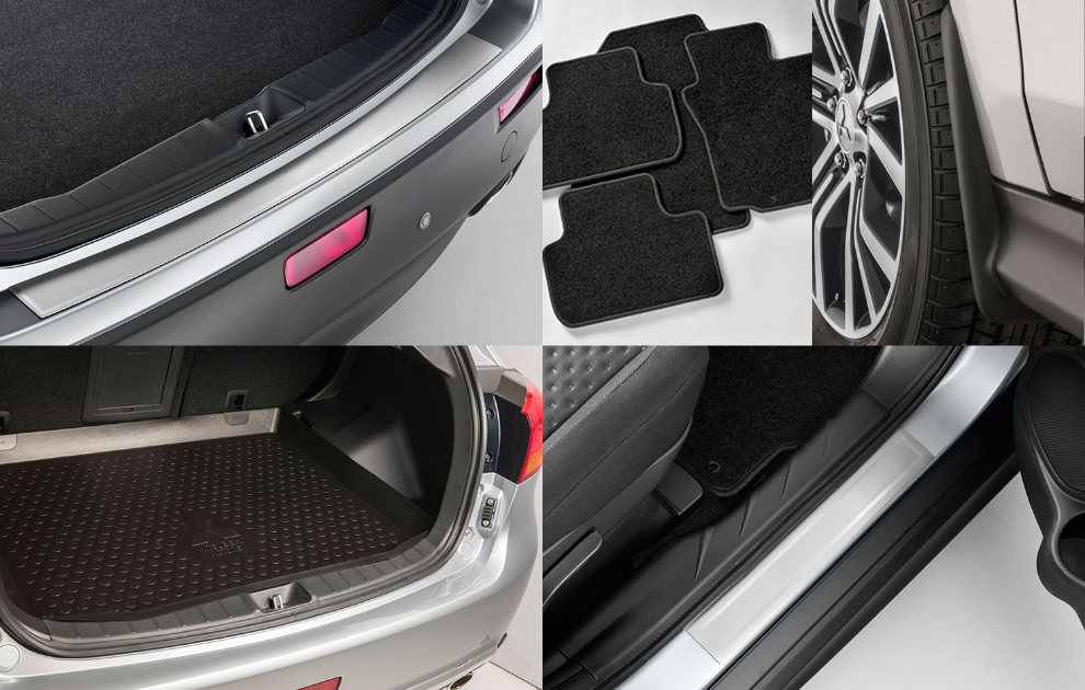 Mitsubishi Protection Pack - Vehicles Without Wheel Arch Mouldings