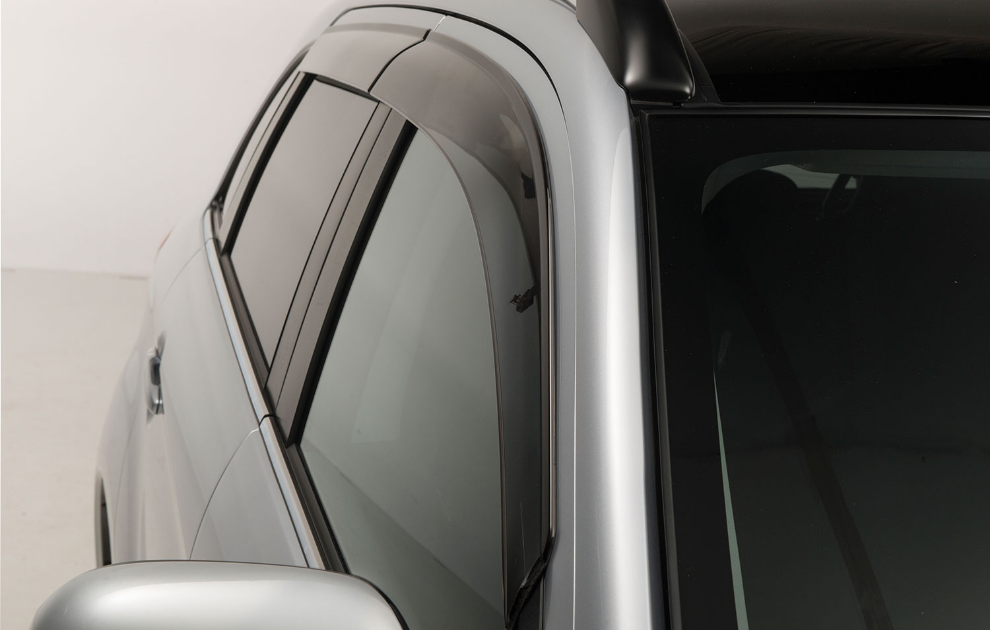 Mitsubishi Side Wind Deflectors, Front And Rear