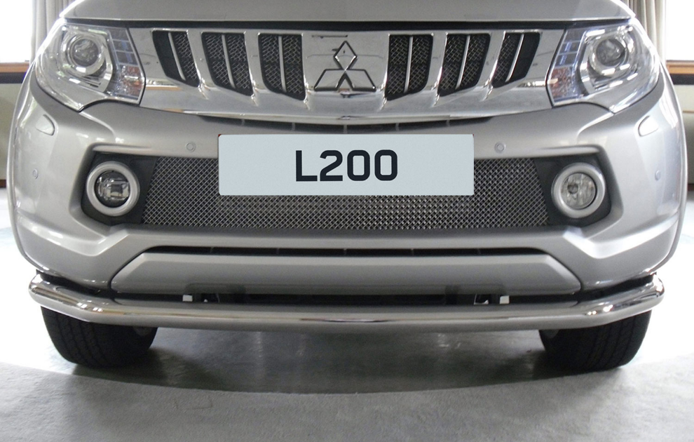 Mitsubishi L200 Front Bar, Stainless Steel