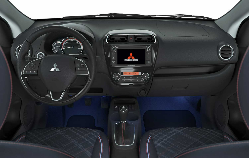 Mitsubishi Mirage Floor Illumination