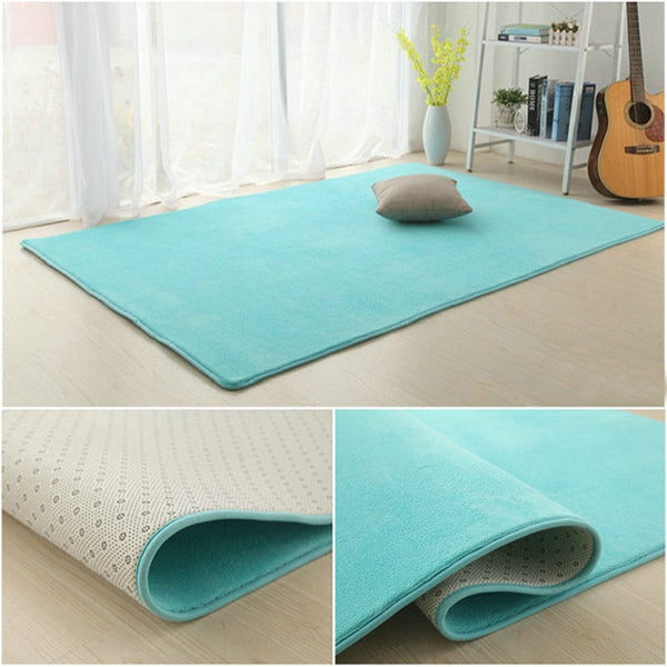 Anti-slip Living Room Mat Rug Carpet Bedroom Rug Kitchen Mat Carpets for Living Room