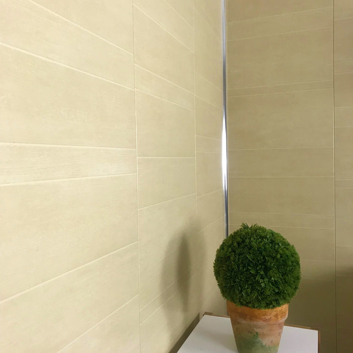 Multi Tile Beige 400mm (Large Tiles)