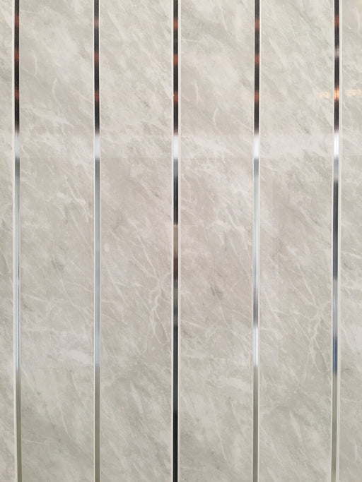 Grey Marble Chrome 8mm