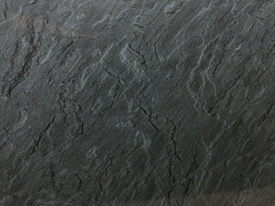 slate marble pvc cladding shower panels dark grey