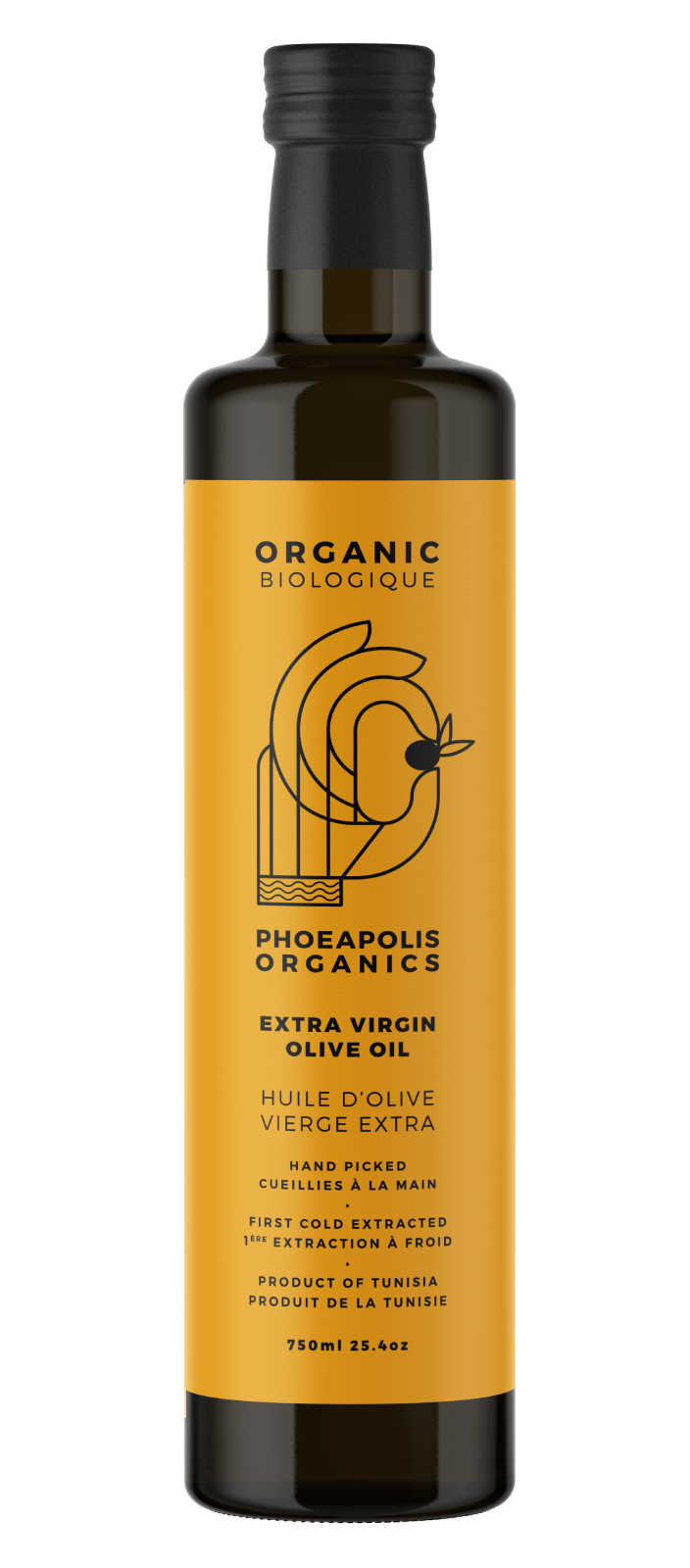 Organic Extra Virgin Olive Oil Delicate Taste, 750 ML