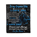Fleece family Blanket never forget that I love you