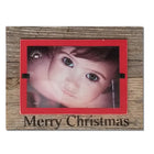 Merry Christmas Sign Tabletop Farmhouse Christmas Decor Picture Frame