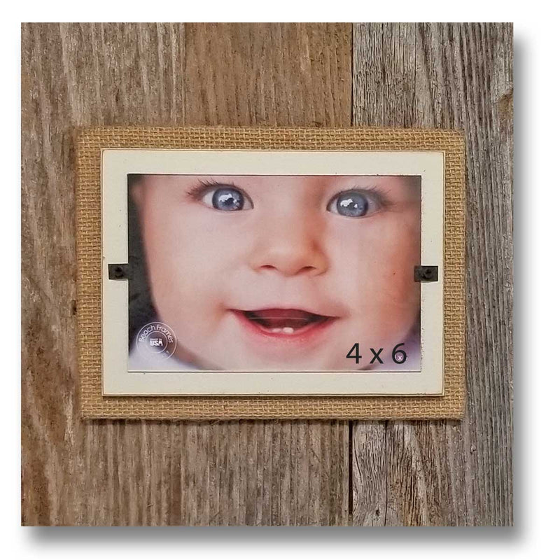 Traditional Rustic Reclaimed Wood Picture Frames for 4 x 6 or 5 x 7 Pictures - tabletop or standing