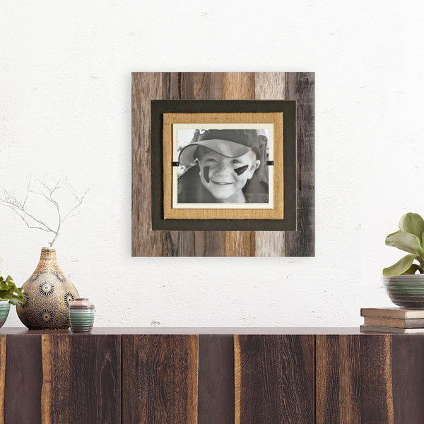 Traditional Rustic Reclaimed Wood Picture Frame | 8x10 or 11x14 picture