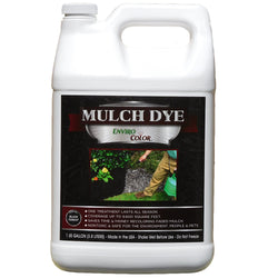 9,600 SQ FT - 1 Gallon Black Forest mulch dye
