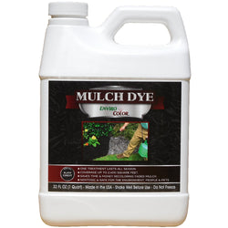 2,400 SQ. FT - 32 OZ  Black Forest mulch dye