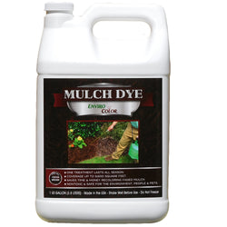 9,600 SQ. FT - 1 Gallon Cocoa Brown mulch dye