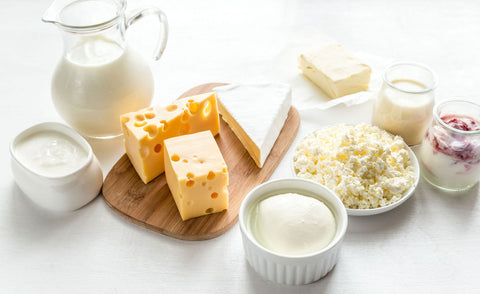 dairy products milk cervical mucus