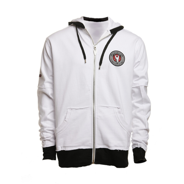 Black Belt Society Hoodie (White)