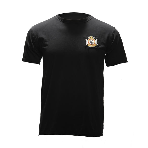 Maltese Cross Tee (Black)