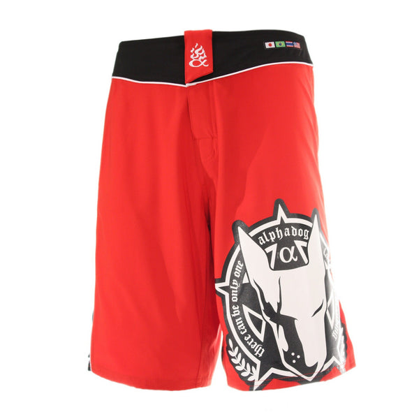 Pitbull Short (Red)