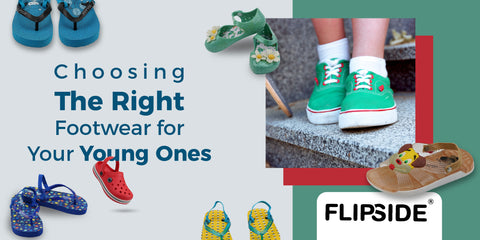 Choosing the Right Footwear for Your Young Ones - flipside