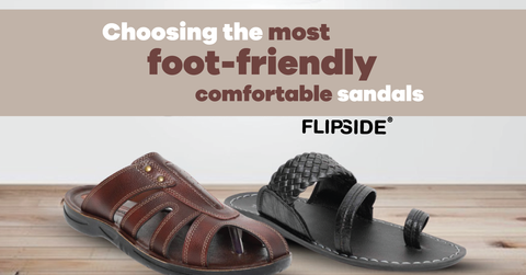 The most foot-friendly comfortable men sandals