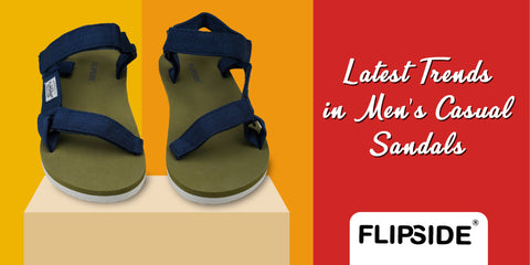 LATEST TRENDS IN MEN'S CASUAL SANDALS