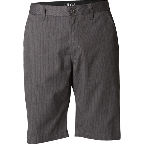 Fox Mens Essex Pinstripe Short Charcoal