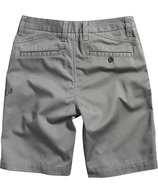 Fox Boys Youth Essex Short In Gunmetal