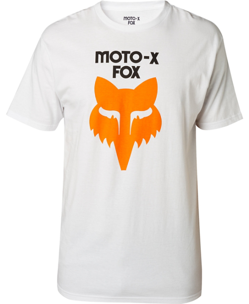 Fox Mens Legacy Heritage SS Tee in White