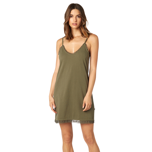 Fox Ladies End Of The World Dress In Fatigue Green