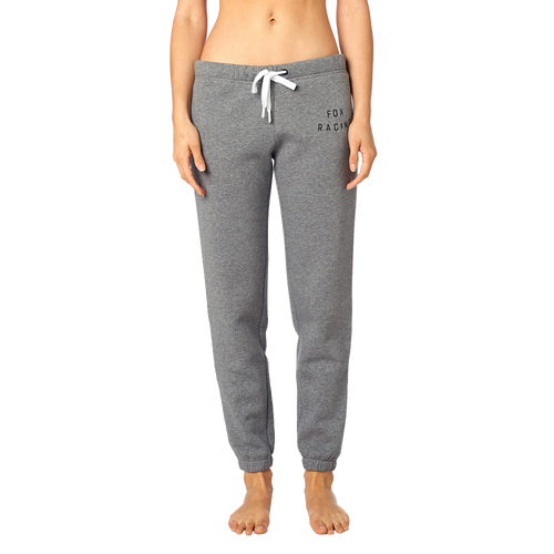 Fox Ladies Bolt Fleece Pant In Heather Graphite