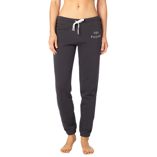 Fox Ladies Bolt Fleece Pant In Black Vintage