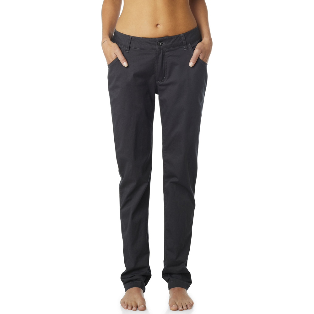 Fox Ladies Dodds Chino Pant In Black Vintage