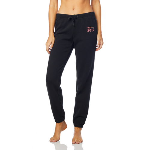 Fox Ladies Moto X Sweatpant In Black
